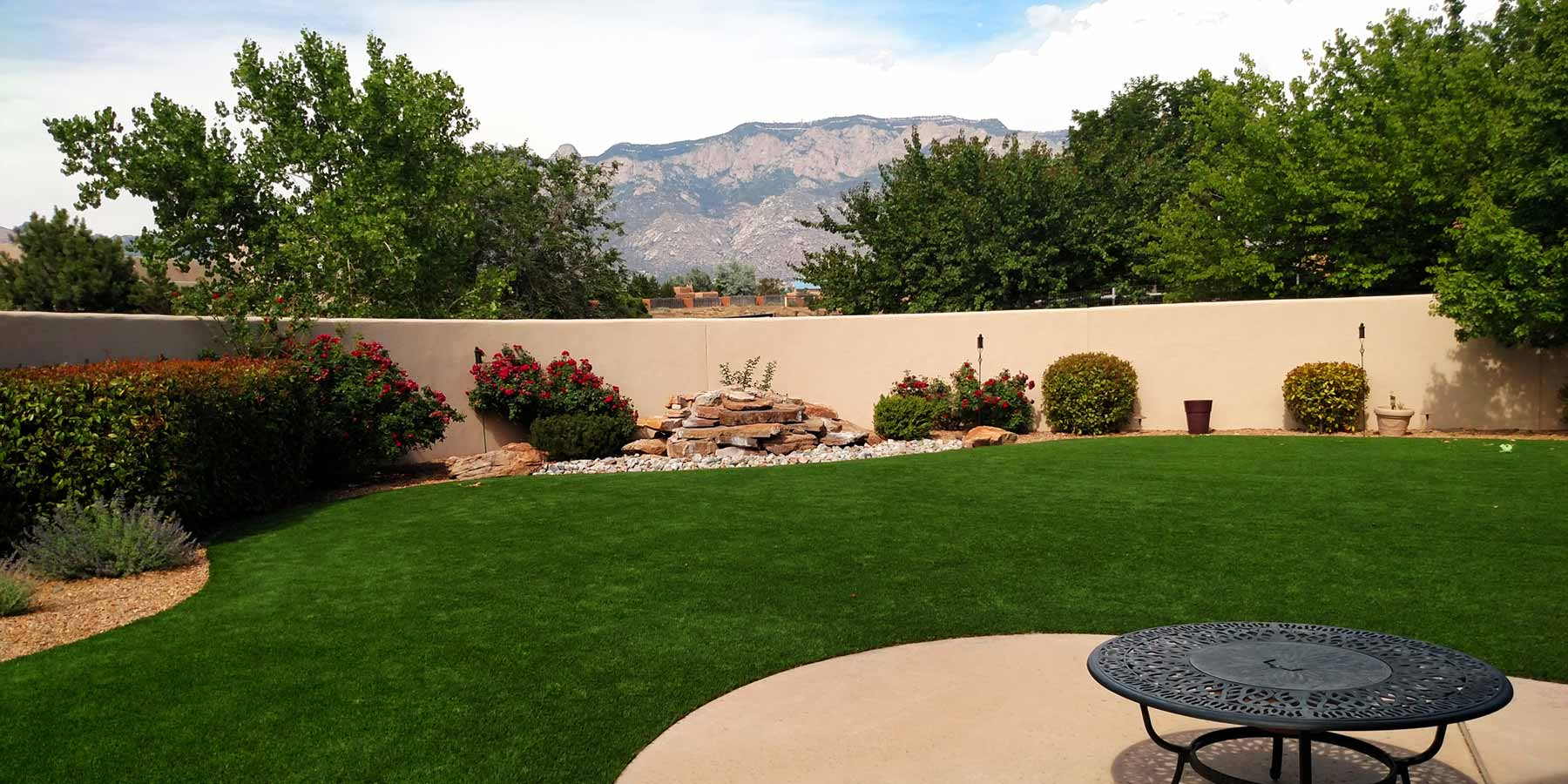 artificial grass Residential Landscapes
